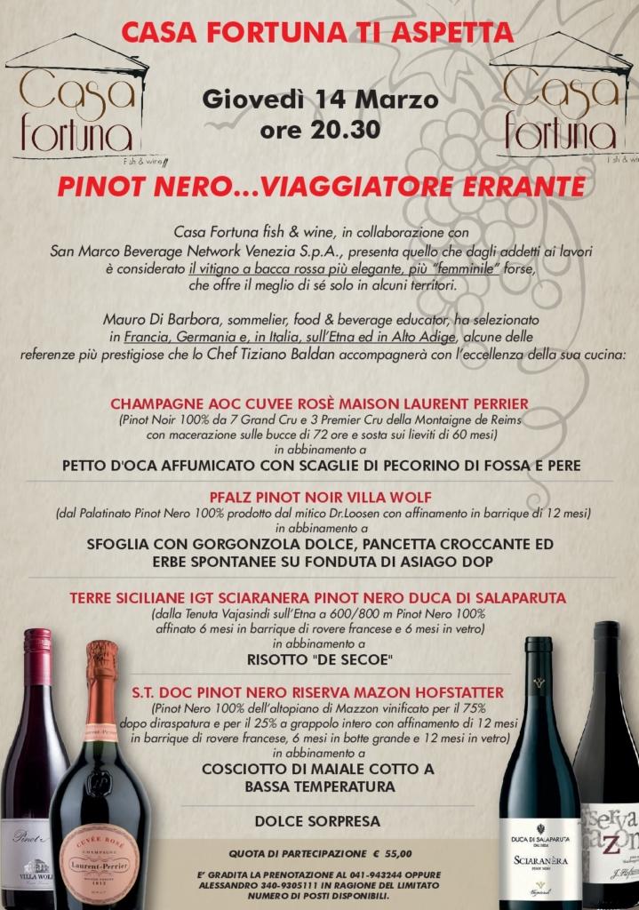 Pinot Nero... Viaggiatore Errante