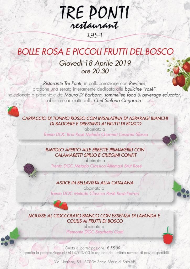 Bolle Rosa e Piccoli Frutti del Bosco