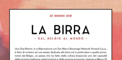 La Birra - dal Belgio al Mondo