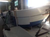 Motobarca prua cantiere