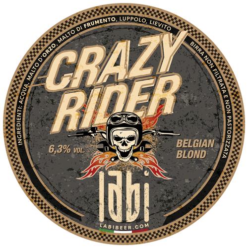 Crazy Rider Belgian Blond Birrificio LABI Rosà