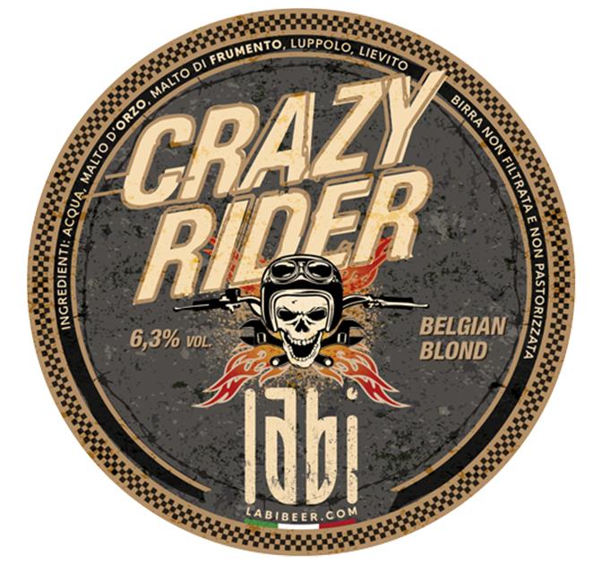 Birra Crazy Rider Belgian Blond Birrificio LABI Rosà